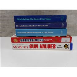 ASSORTED GUN BOOK VALUES