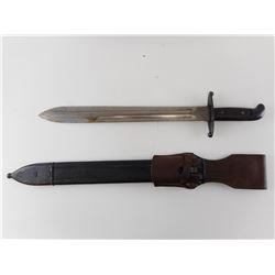 SPANISH SWORD/MACHETE WITH SCABBARD