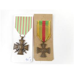 WWI FRENCH MEDALS LOT