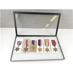 WWII CAMPAIGN MEDALS LOT