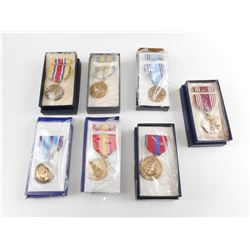 U.S. MILITARY MEDAL IN BOXES