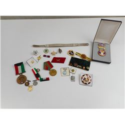 FOREIGN MILITARY MEDALS AND BADGES