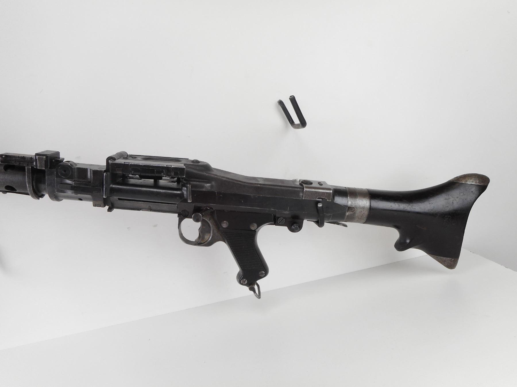 German machine gun Maschinengewehr MG 34 from Worl by