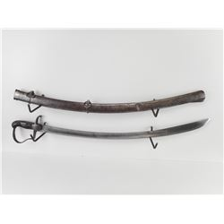 EARLY 1811 BLUCHER LIGHT CAVALRY SWORD WITH SCABBARD