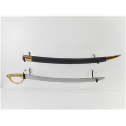SWISS 1852 INFANTRY SWORD WITH SCABBARD