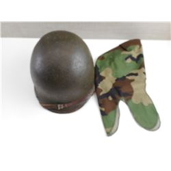 US M-1 HELMET AND COVER