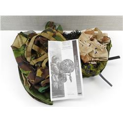 ASSORTED MILITARY HELMET COVERS