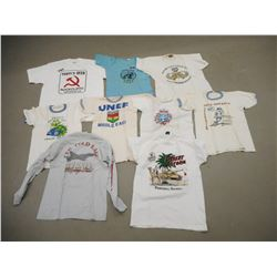 ASSORTED USED MILITARY TSHIRTS