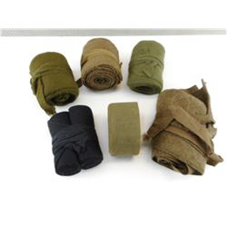ASSORTED MILITARY PUTTEE'S
