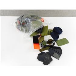 ASSORTED LOT OF VARIOUS VELCRO STRIPS