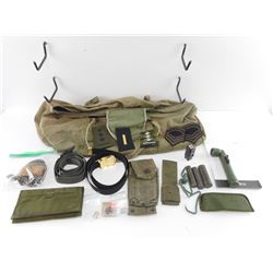 ASSORTED MILITARY EQUIPMENT