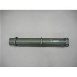 US 105 MM TANK ROUND CONTAINER. EMPTY