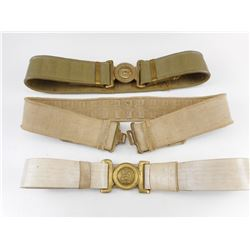 MILITARY PARADE BELTS