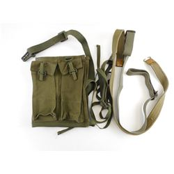 CANADIAN MILITARY FNC2 SLING & AMMO POUCH