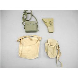 CANADIAN HIGH POWER HOLSTER AND GAS MASK BAGS