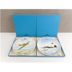 THE BATTLE OF BRITAIN CHINA PLATES IN BOXES