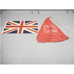 ASSORTED NAVY/BRITISH FLAGS