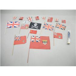 ASSORTED DESK PENNANT FLAGS