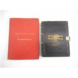 PRE WWI CANADIAN MILITARY REGULATION BOOKS