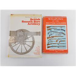 ASSORTED BRITISH MILITARY ARTILLERY BOOKS
