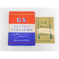 ASSORTED US MILITARY FIREARMS BOOKS