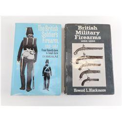 BRITISH MILITARY FIREARMS BOOKS