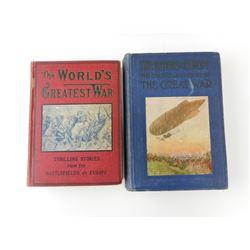 THE GREAT WAR BOOKS