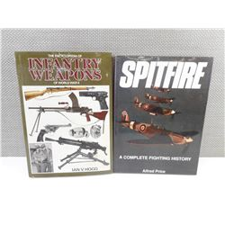 MILITARY WEAPONS BOOKS