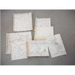 WWII CANADIAN BATTLE MAPS
