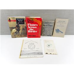 ASSORTED WARTIME BOOKS/MANUALS