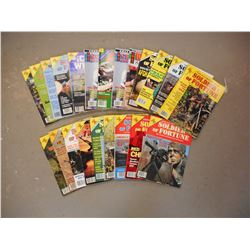 ASSORTED SOLDIER OF FORTUNE MAGAZINES