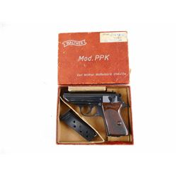 WALTHER  , MODEL: PPK  , CALIBER: 32 AUTO