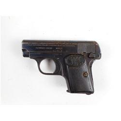 BROWNING  , MODEL: 1906 , CALIBER: 6.35MM