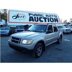 F2 --  2005 FORD EXPLORER SPORT , Brown , 241561  KM's