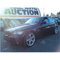 B6 --  2007 BMW 335I  , Black , 173684  KM's