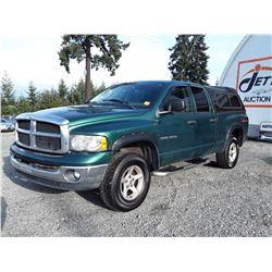 G3 --  2003 DODGE RAM 1500 SLT , Green , 271053  KM's