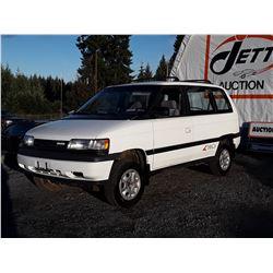 M3 --  1992 MAZDA MPV  , White , 229469  KM's