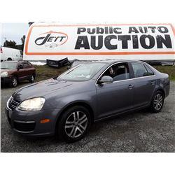"""A12J --  2006 VW JETTA TDI , Grey , 244457  KM's """"NO RESERVE"""""""