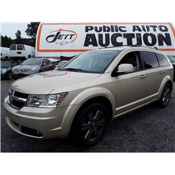"A5 --  2010 DODGE JOURNEY RT , Brown , 233674  KM's ""NO RESERVE"""