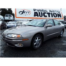 A9 --  2003 OLDSMOBILE AURORA , Brown , 143532  KM's  NO RESERVE