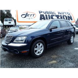 A7 --  2004 CHRYSLER PACIFICA , Blue , 200892  KM's