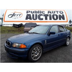 A4 --  2001 BMW 320I  , Blue , 249627  KM's