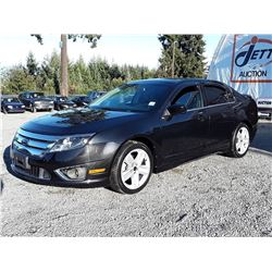 E1 --  2010 FORD FUSION SPORT, BLACK, 179,328 KMS