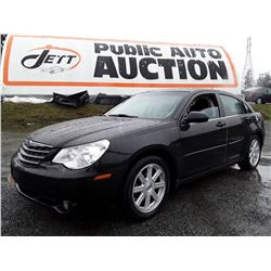 D2 --  2009 CHRYSLER SEBRING TOURING , Black , 104973  KM's