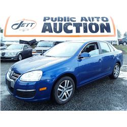 D3 --  2008 VW JETTA SE, BLUE, 69,883 KMS