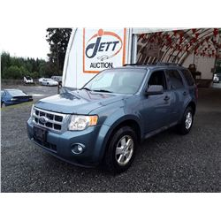 F6 --  2011 FORD ESCAPE XLT  , Blue , 268706  KM's