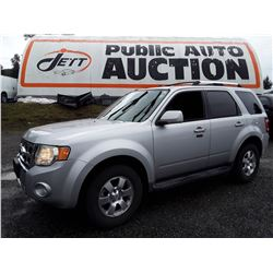 E4 --  2009 FORD ESCAPE LTD  , Grey , 206600  KM's