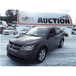 D6 --  2016 DODGE JOURNEY SE , Grey , 70071  KM's