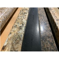 APPROX. 8' X 3' GALAXY BLACK GRANITE COUNTER TOP SLAB