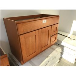 CHERRY 6004  42  W X 21  D X 32  T VANITY WITH RIGHT HAND DRAWERS, MODEL: VA4221DR-32